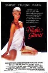 """Poster for the movie """"Night Games"""""""