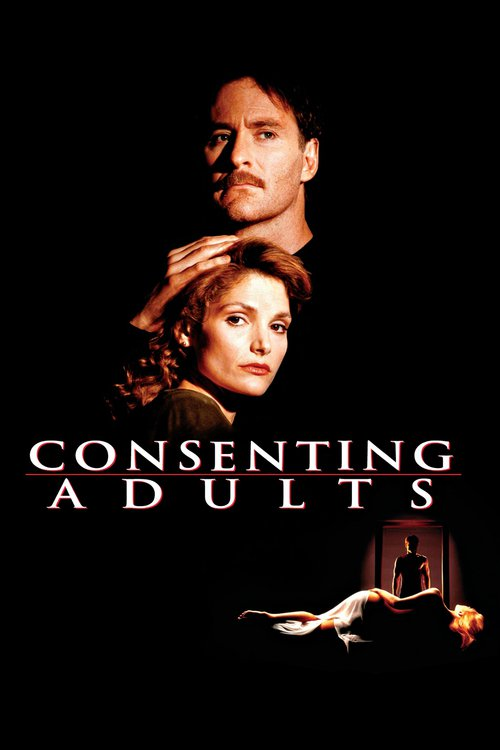"""Poster for the movie """"Consenting Adults"""""""