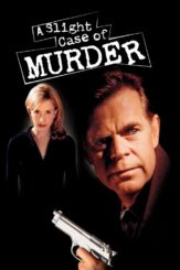 """Poster for the movie """"A Slight Case of Murder"""""""