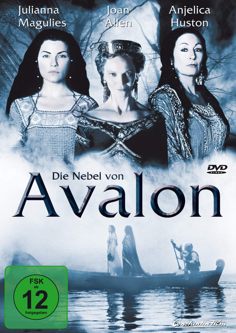 """Poster for the movie """"The Mists of Avalon"""""""